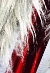 Silver tray fur backdrop