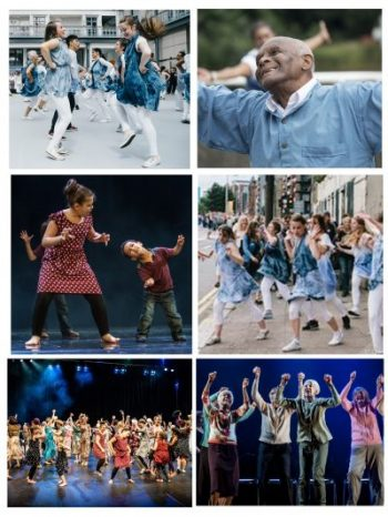 Barrowland Ballet Intergenerational Company main production image